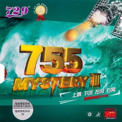 Накладка Friendship 729-755 Mystery III (38°) (черная, 0.5)